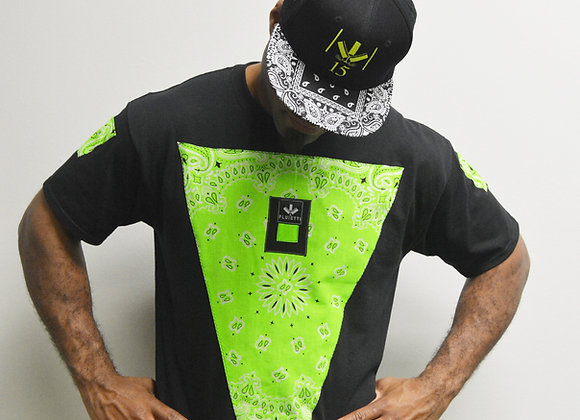 DARMAX NEON GREEN/BLACK & HAT