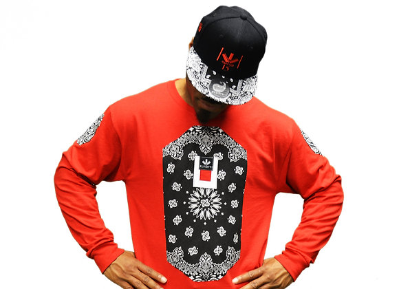 OVEX BLACK/RED & HAT
