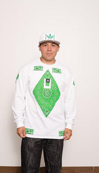 QUDEX KELLY GREEN/WHITE & HAT