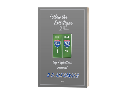 2 - Follow the Exit Signs Life Reflection Journal