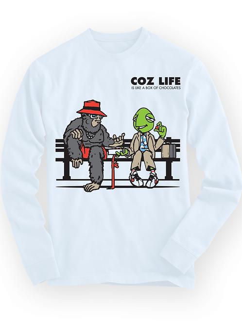 Men's Coz Life DeeCandyman Collab Longsleeve T-shirt