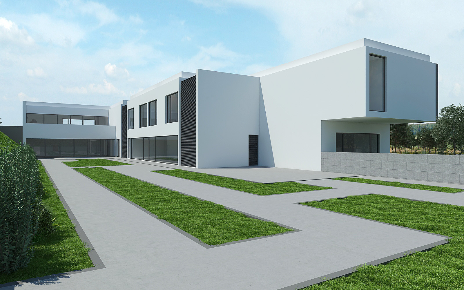 Lar Residencial e Centro de Actividades Ocupacionais (CAO)