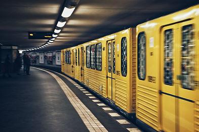 רכבת-תחתית-צהובה-בברלין