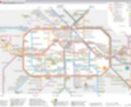 מפת הרכבות של ברלין