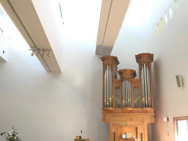 本日、翠ヶ丘教会