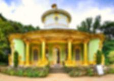 הבית הסיני, אחד מארמונות השטות הפזורים בפארק סנסוסי   אמיר בברלין