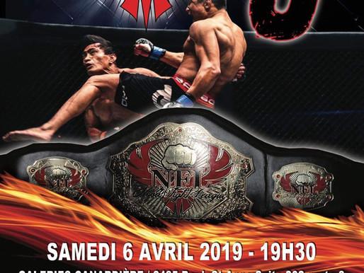 NFL9 : Combats de MMA amateur, le 6 avril 2019