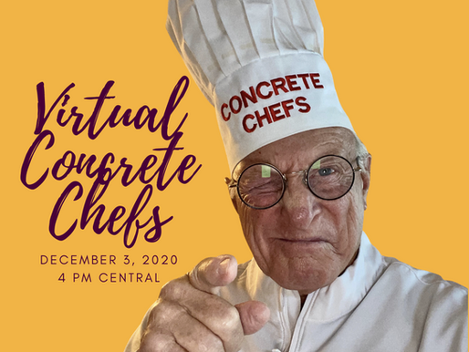 Join us Dec. 3 for Virtual Concrete Chefs
