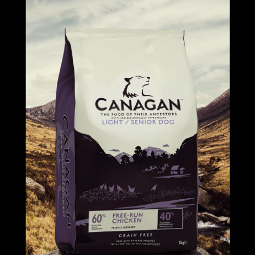 CANAGAN LIGHT SENIOR 12KG