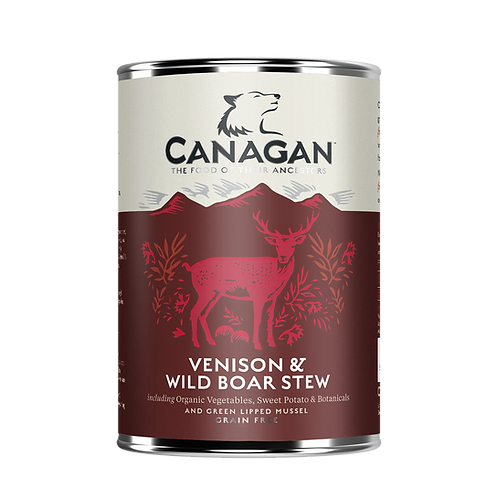 CANAGAN DOG CAN VENISON & WILD BOAR 400GR