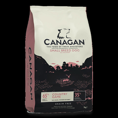CANAGAN SMALL BREED COUNTRY GAME 500GR