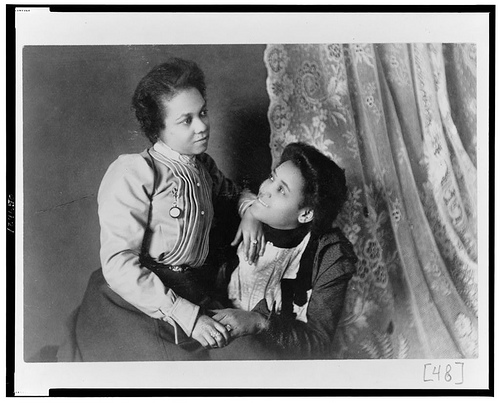Two women, 1899, via fyeahqueervintage.tumblr