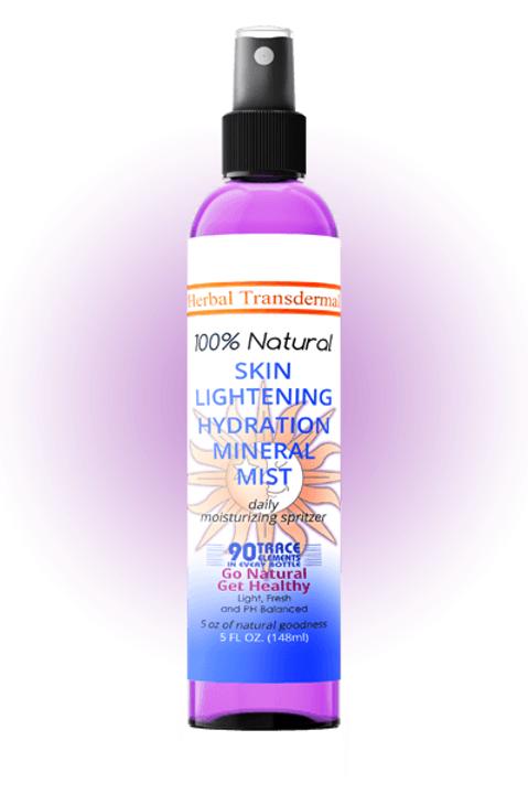 Skin Lightening Hydration Mineral Mist, 5oz
