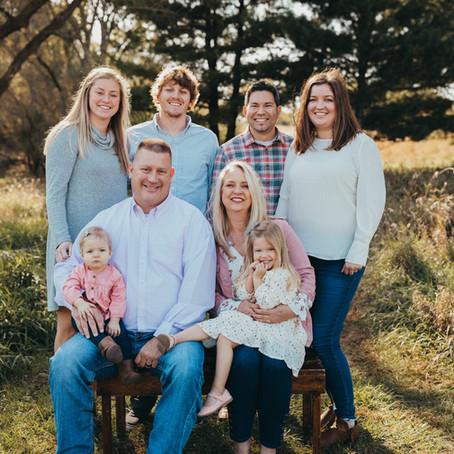 Kingsbury Extended Family
