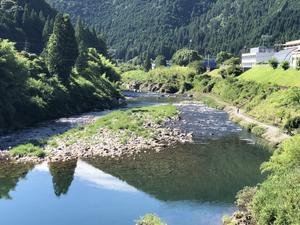 河川情報…渇水です