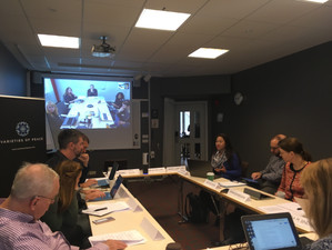 Workshop on relational peace in Uppsala