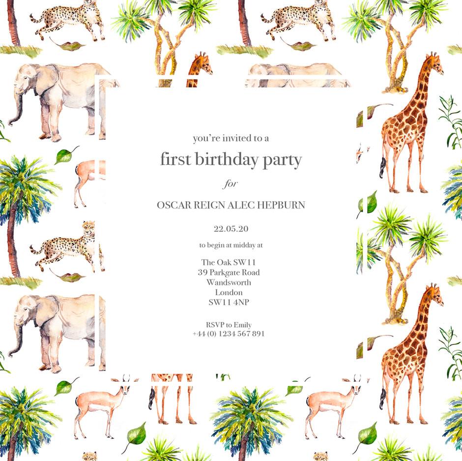 collection: Baby Safari