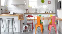 Ambiente TOLIX IRON cadeira e banqueta 1