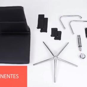 Montagem de cadeiras