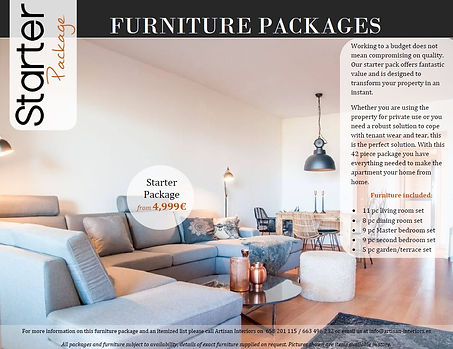 artisan | Furniture Packages