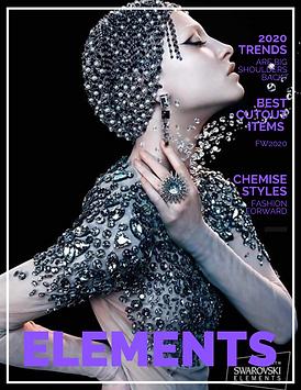 Bordered Fashion Magazine Cover