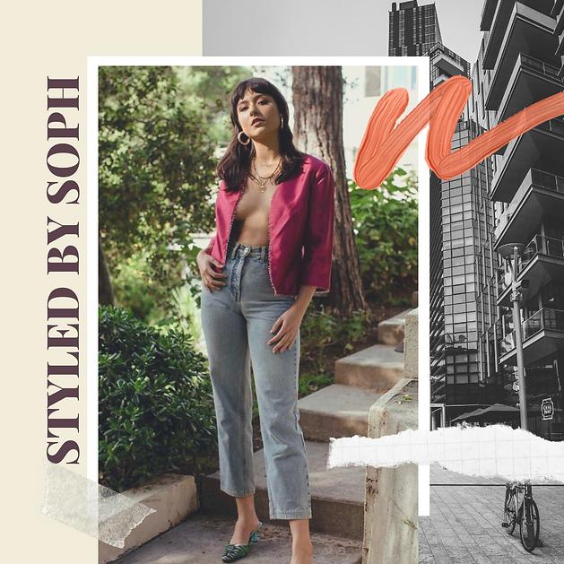 Cream Fashion and Retail Instagram Post.