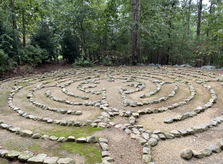 Prayer Walking a Labyrinth -- with a Printable Guide