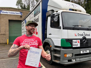 Kris Howell passed his class 2 test!