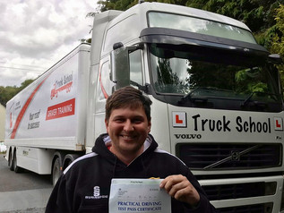 Matthew Greatley passed his class 1 test FIRST TIME!