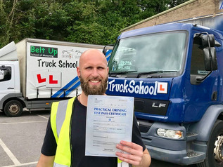 Chris Young passed his class 2 test FIRST TIME!