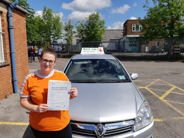 First Time Driver >> Test Pass Charlotte Rawlings Passed Her Driving Test