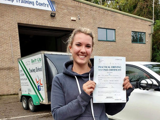 Hayley Coleman passed her car and trailer test FIRST TIME!