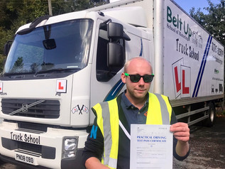 Alex Rice passed his class 2 test FIRST TIME!