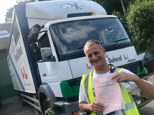 Mark Bamfield passed his Mod 4 CPC test FIRST TIME!