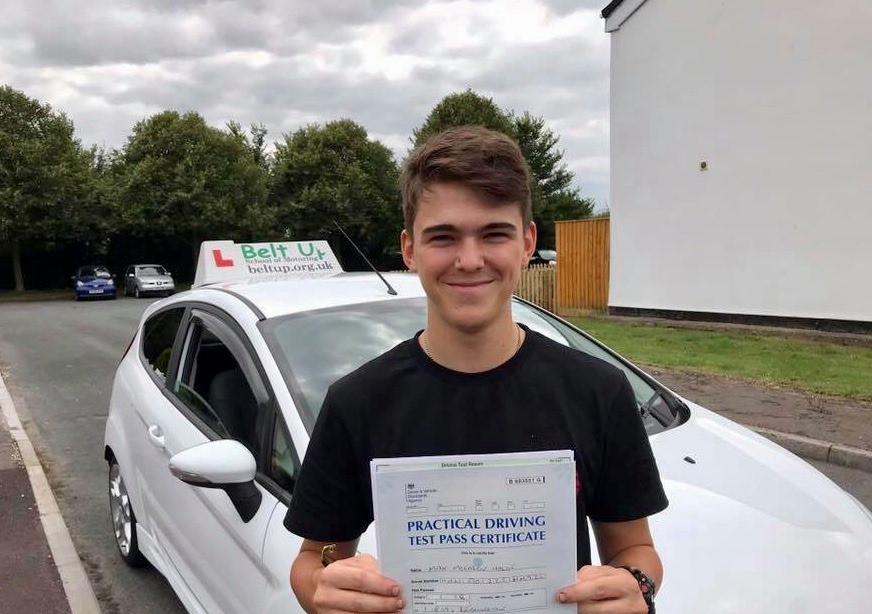 Car driving test pass