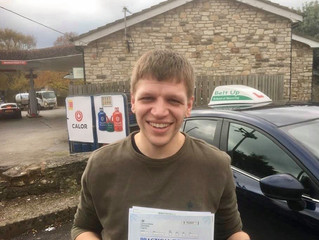 🔴 TEST PASS! 🔴  Oil Ashman passed his test FIRST TIME!