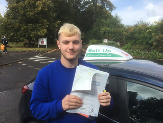 🔴 TEST PASS! 🔴  Dale Harper just passed his driving test!
