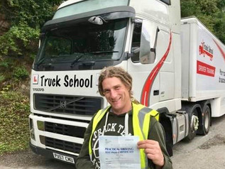 Jason Martin passed his class 1 test!