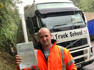 Fred Goulstone passed his class 1 test FIRST TIME!