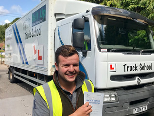 Sam Fry passed his class 2 test FIRST TIME!