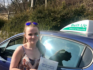 🔴 TEST PASS! 🔴  Leanne Marie Ryan passed her driving test with no faults!