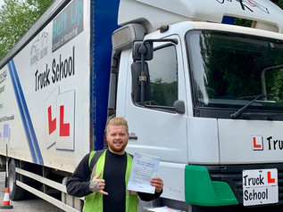 Elliot Shepherd passed his class 2 test FIRST TIME!