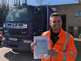David Swann passed his class 2 test FIRST TIME!