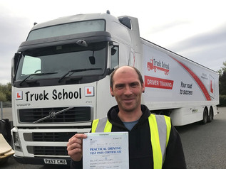 Kevin Coombes passed his class 1 test FIRST TIME!