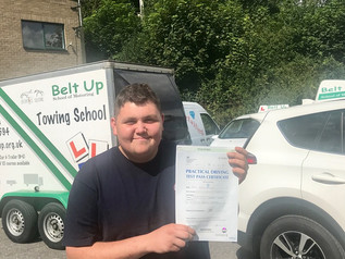 David Spiller passed his car and trailer test FIRST TIME!