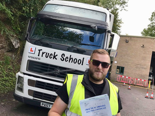 Adam Barnaby passed his class 1 test FIRST TIME!