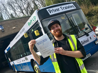 Thomas Stentaford passed his cat D test FIRST TIME!