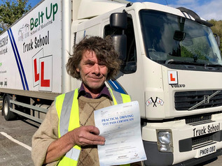 Roy Harrington passed his class 2 test today!