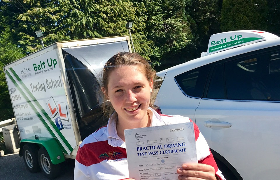 Car and trailer test pass