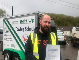 🔴 TEST PASS! 🔴  Philip Newing passed his car and trailer test FIRST TIME!